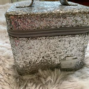 Caboodles small glitter makeup carrying case